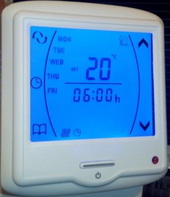 Termostat TKV8 Touchscreen Image
